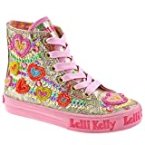 Lelli Kelly Kids LK5088 Mila Boots In Gold, 1 UK Youth