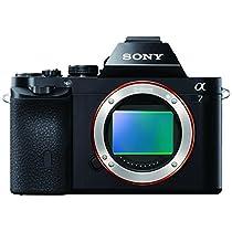 Sony Alpha 7 Fotocamera Digitale Compatta con Obiettivo Intercambiabile