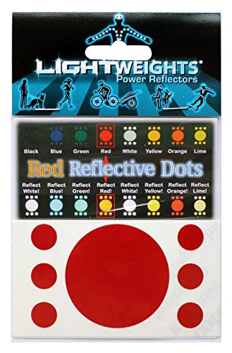 (Lightweights Stealth Reflective Dots 7 Red)
