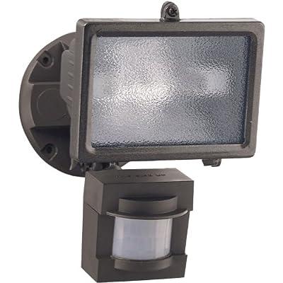 Heath Zenith HZ-5511-BZ 110-Degree 150-Watt Motion-Sensing Security Light, Bronze