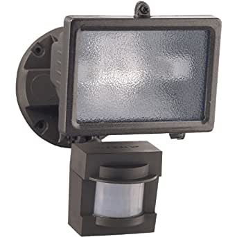 Heath Zenith HZ-5511-BZ 110-Degree 150-Watt Motion-Sensing Security Light, Bronze