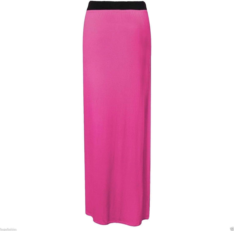 BODYWEAR LTD Womens Ladies Gypsy Long Jersey Bodycon Maxi Skirt