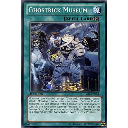LVAL-EN064-1st EDITION YU-GI-OH GHOSTRICK MUSEUM