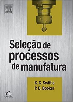 Book Selecao de Processos de Manufatura