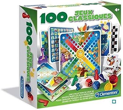 Clementoni – 52183.8 – 100 Juegos de Mesa: Amazon.es: Juguetes y juegos