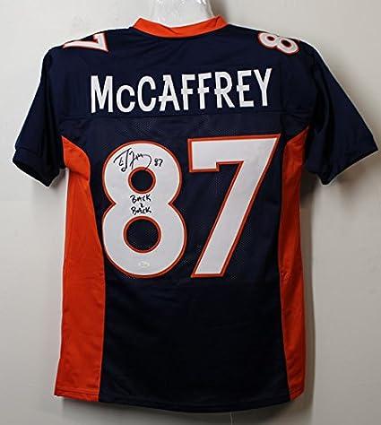 Ed McCaffery Denver Broncos Jersey, XL