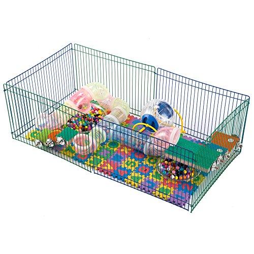 Dwarf Hamster Mice-Small Pets Playpen Play Park 513qxX5Tb6L