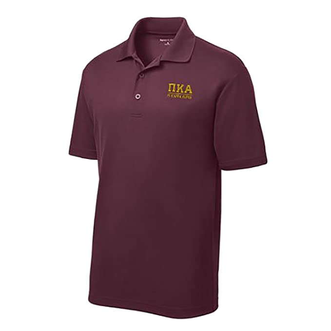Greek Letter Before Kappa.Amazon Com Pi Kappa Alpha Pike Greek Letter Polo S Clothing