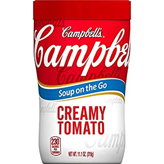 Campbell's Soup on the Go, Creamy Tomato, 10.75 Ounce,Pack of 8