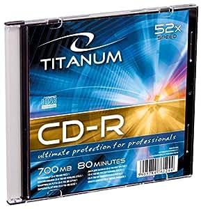 2029 - 5905784761244 CD-R TITANUM [ slim jewel case 1 | 700MB | 52x ]