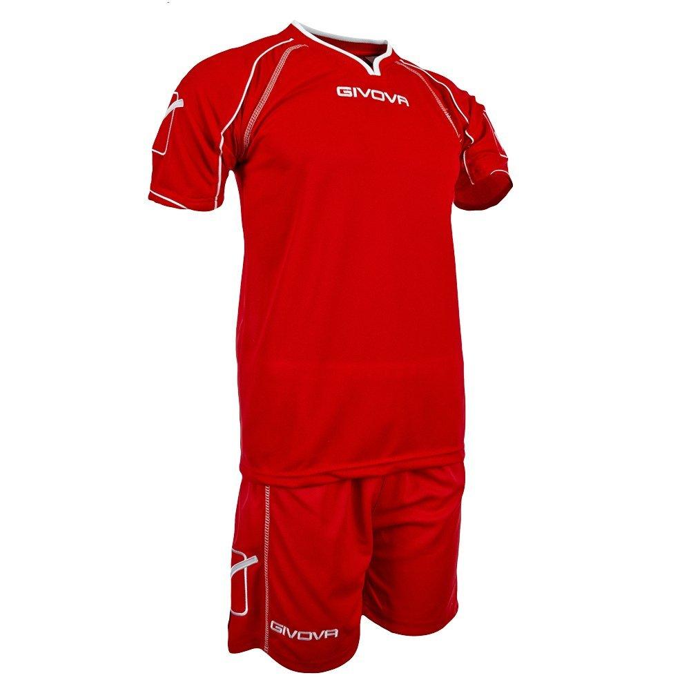 Givova Training Kit Warm Up Football Team Strip Gym Top Shorts Short  Sleeve  Amazon.co.uk  Sports   Outdoors f309b92b5