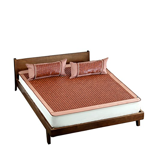 Qbedding Carbonized Bamboo Summer Sleeping Mat Cooling