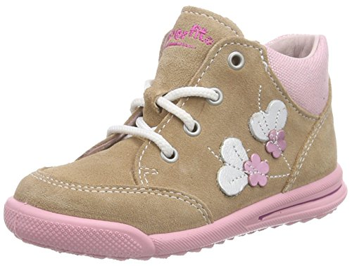 Superfit AVRILE MINI 600372 Baby Mädchen Lauflernschuhe Sneaker, Beige (CASHEW KOMBI 31), 23 EU