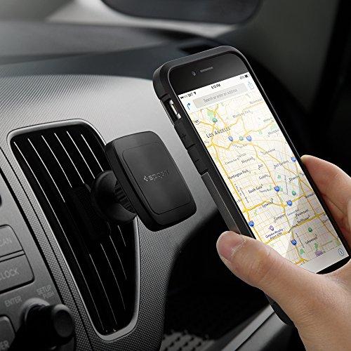 Spigen Kuel A201 Car Phone Mount Premium Magnetic Air Vent Phone Holder Compatible with iPhone X / 8/8 Plus / 7/7 Plus/Galaxy S9 / S9 Plus/Note 8 / Note 9 / S8 / S8 Plus & More by Spigen (Image #6)'