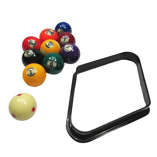 Triángulo de plástico para el snooker / pool, soporte de bola de ...