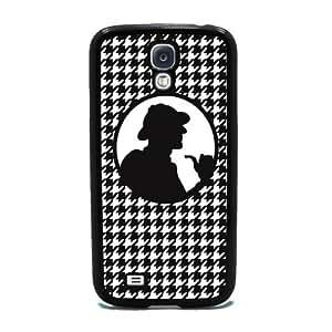 Sherlock Holmes - Samsung Galaxy S4 Cover, Cell Phone Case - Black WANGJING JINDA