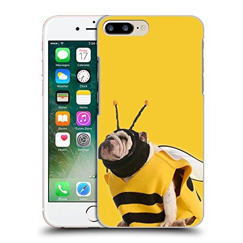 GoGoMobile Coque de Protection TPU Silicone Case pour // Q05650611 Abeille bouledogue giallo banana // Apple iPhone 7 PLUS