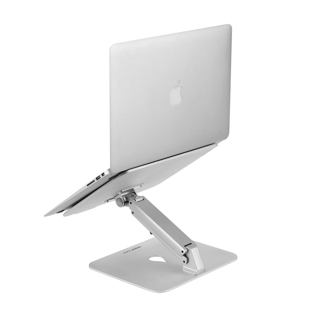 SKYZONAL Laptop Stand New Design Aluminum Height Adjustable Desk Armrest Computer Arm Support PC Tablet Mount Desktop Tablet Stand for Computer PC Notebook MacBook Ipad