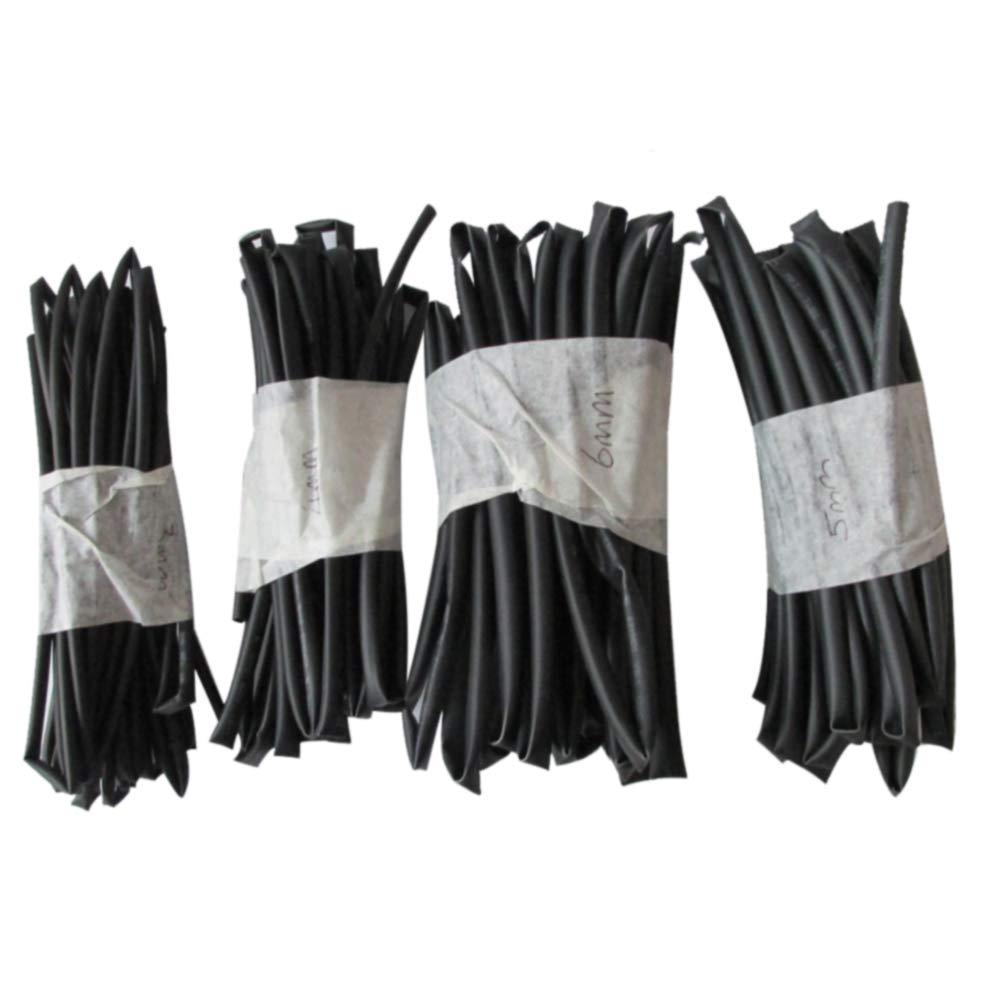 Auto-Kabel-Reparatur-Werkzeug isolierter Mantelverbinder 4 St/ück elektrische Ausr/üstung 4 mm 5 mm Durchmesser 6 mm Durchmesser DIY Sortiment Polyolefin LNIMIKIY Schrumpfschlauch 3 mm