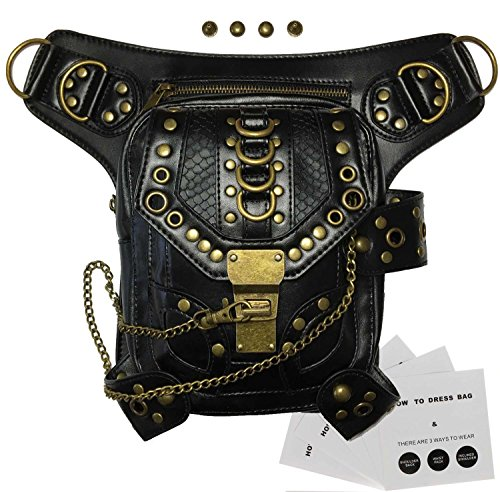 SAFODO Steampunk Shoulder Victorian Holster product image