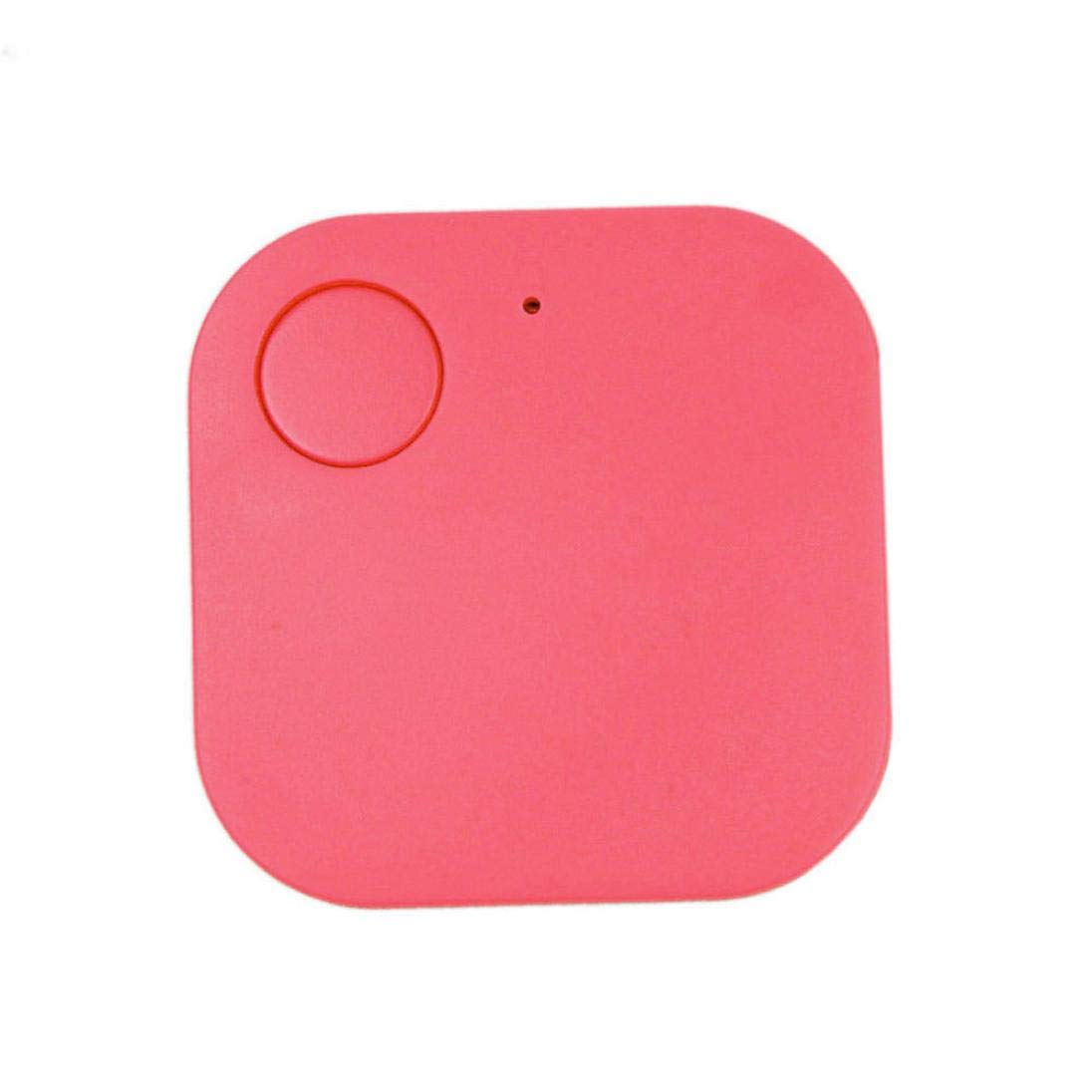 Iusun Anti Lost Device, Mini GPS Tracker Car Motor Kids Pets Wallet Keys Smart Alarm Locator Realtime Finder Device (Hot Pink)