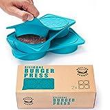 MeisterBurger Silicone Burger Press - Non-Stick FDA Approved Review and Comparison