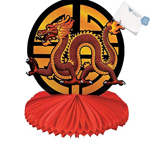 (Bargain World Chinese New Year Dragon Centerpiece (With Sticky)