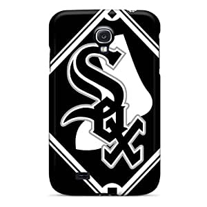 MansourMurray Samsung Galaxy S4 Excellent Hard Phone Covers Customized Fashion Chicago White Sox Pictures [sYW8233YVdT]
