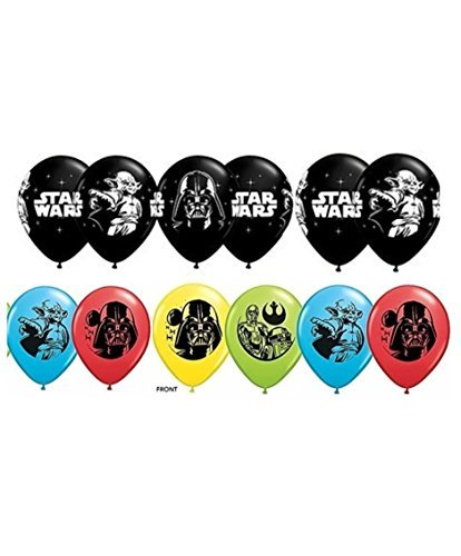 Star Wars Latex Balloons ~ Package of 12 ()
