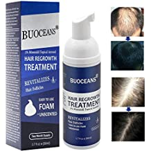 Hair Growth Products, Hair Regrowth, Hair Growth Treatment, Hair Loss & Hair Thinning Treatment, Extra Strength Hair Growth Treatment Foam, One Month Supply