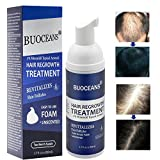 Hair Growth Products, Hair Regrowth, Advanced Therapy System Foam Reduces Hair Loss & Hair Thinning for Thicker Head of Hair Made, Extra Strength Hair Growth Treatment, One Month Supply