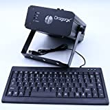 DragonX RGB Text Laser Projector With Keyboard RGB Laser for Stage Lighting Effects Wedding Ceremonies Marriage Proposal Birthday Parties Christmas
