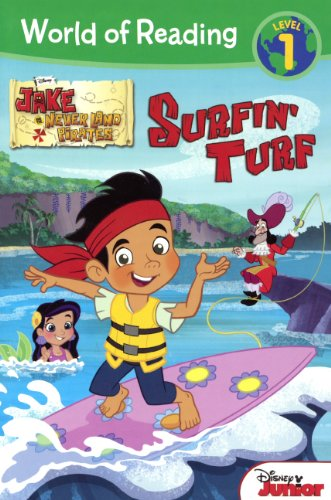 Download Surfin' Turf (Turtleback School & Library Binding Edition) (World of Reading, Level 1: Jake Never Land Pirates) ebook