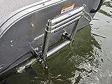 """SeaLux 1-1/4"""" Boat Ladder Stowing/Boat Hook Storage"""