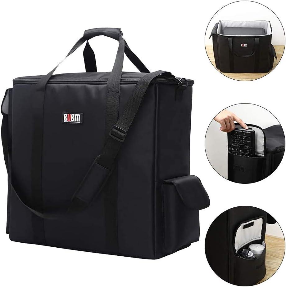 Buwico Desktop PC Computer Main Processor Organizer Travel Storage Carrying Case Bag,Waterproof Anti-Collision,Black