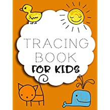 Tracing Book For Kids: Letter Tracing Practice Book For Preschoolers, Kindergarten (Printing For Kids Ages 3-5)(5/8? Lines, Dashed)