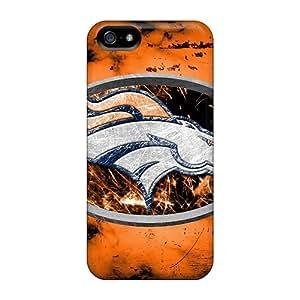 AlissaDubois Iphone 5/5s Anti-Scratch Hard Phone Case Custom High Resolution Denver Broncos Pictures [Znb14299QOvh]