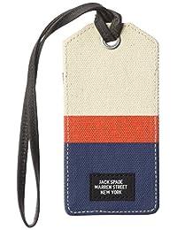Jack Spade Men's Horizontal Stripe Luggage Tag
