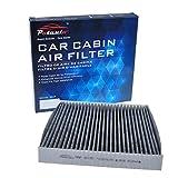 hyundai sonata 2007 air filter - POTAUTO MAP 1015C Heavy Activated Carbon Car Cabin Air Filter Replacement compatible with HYUNDAI, Azera, Sonata, Santa Fe, KIA, Magentis, Optima (Upgraded with Active Carbon)