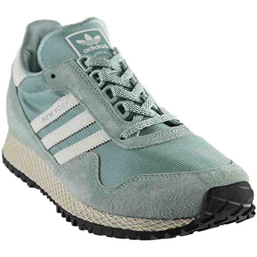 New York Mens in Tac Green/Vintage White/Black by Adidas, 9