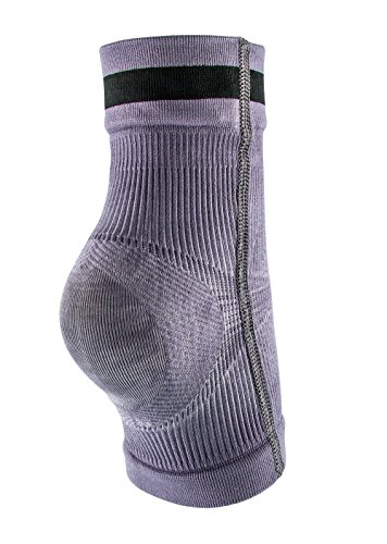 Body Glove Knit Copper Ankle Compression Sleeve - Open Toed Ankle Support Plantar Fasciitis Sock Ideal for F oot Pain Relief , Heel Spurs , Workout Recovery, Daily Active, Sports (Medium)