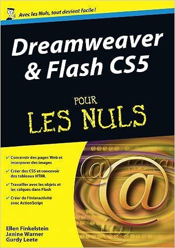 En ligne téléchargement gratuit Dreamweaver & Flash CS5 pour les nuls epub, pdf