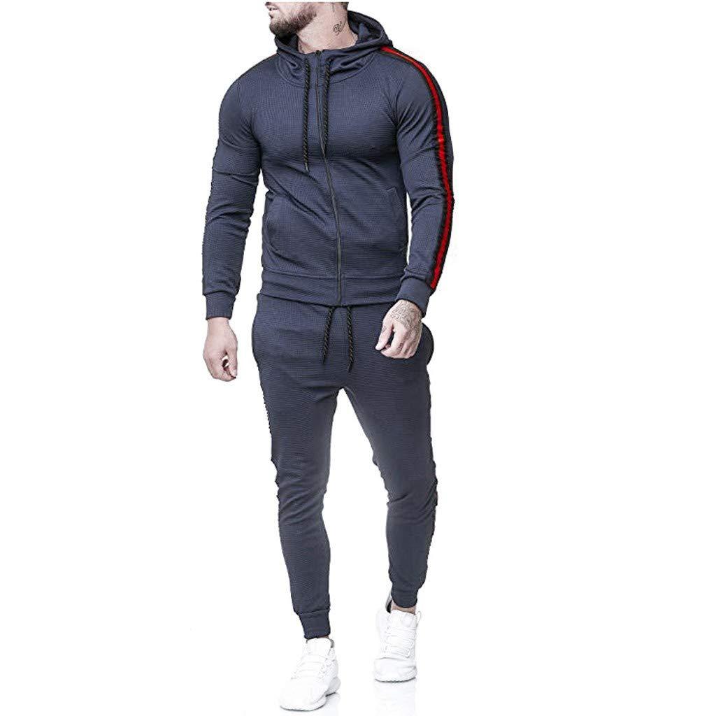 Tracksuit Men red/Tracksuit/Plus Size/Tracksuit Men/Sweatsuit for Men/Down Jacket Men/Mens Hiking Pants/Outfits for Men Set/Activewear for Men by elegantFIY-Tracksuit