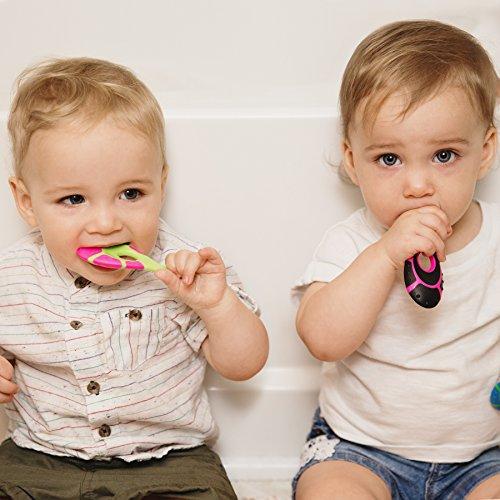 Baby Infant Teething Toothbrush - Baby - BPA Handle and Bristles, 0-2 Years - Pack