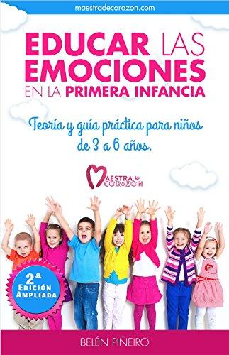 Portada del libro Educar las emociones en la primera infancia de Belén Piñeiro