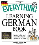 Best German Grammar Books - The Everything Learning German Book: Speak, write, Review