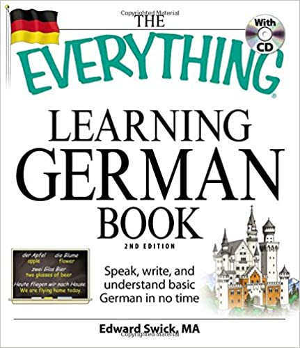 Amazon com: The Everything Learning German Book: Speak
