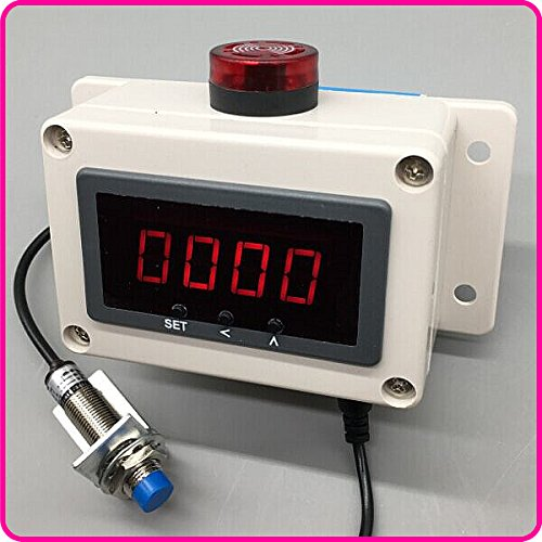 Digital display motor speed strap overspeed alarm sensors measure the of electronic tachymeter