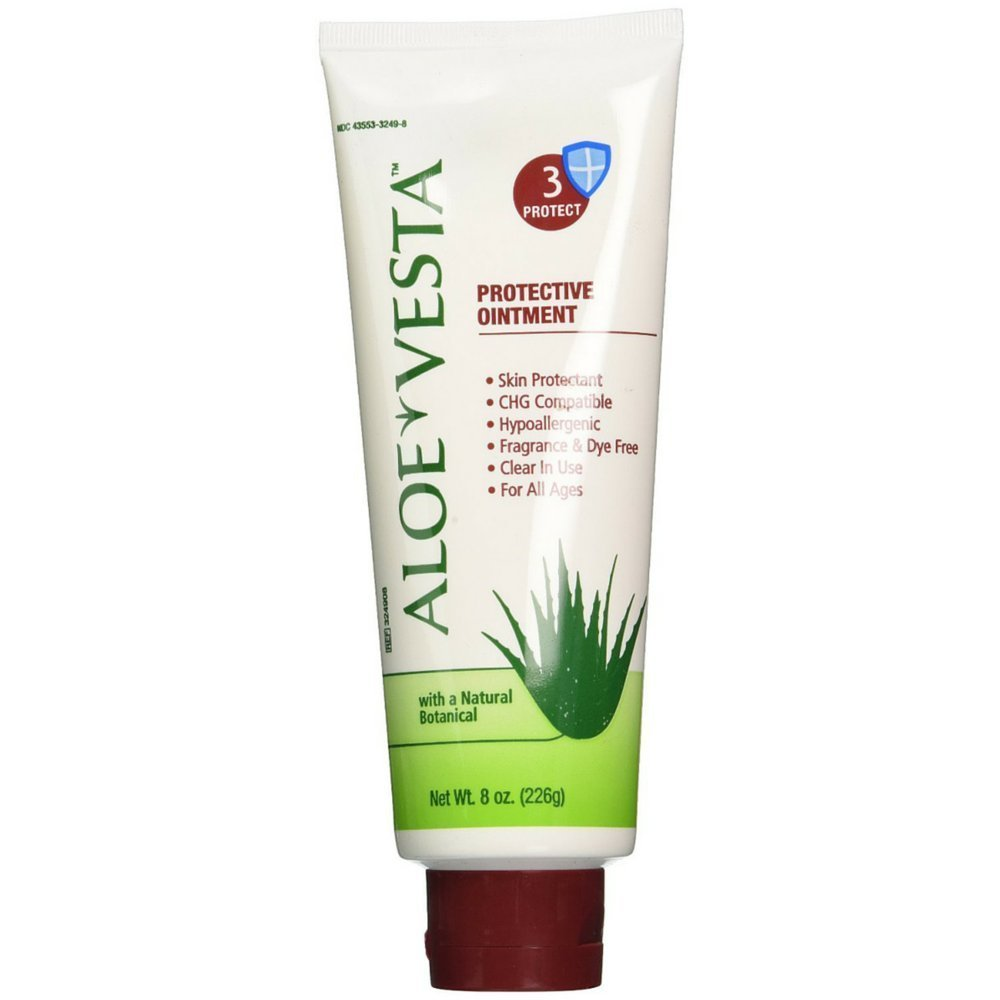 Aloe Vesta Protective Ointment 3 Protect 8 oz (Pack of 3) : Therapeutic Skin Care Products : Beauty