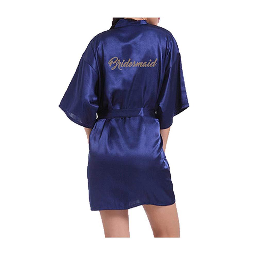 Morbuy Kimono Mujer Batas, Camisón de la Boda para el camisón Nupcial de la Novia del Partido Nupcial: Amazon.es: Ropa y accesorios